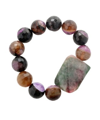 Bracelet_Drusy purple