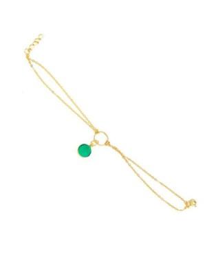 Bracelet_Green Onyx