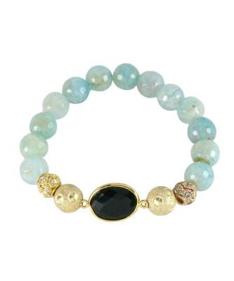 Bracelet_Onyx Aqua