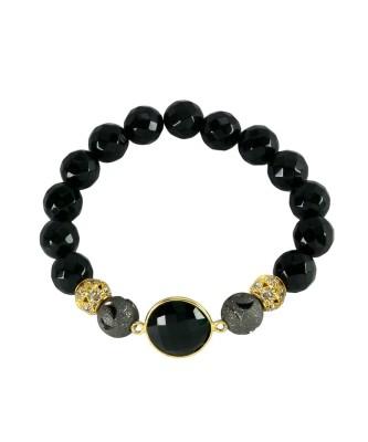 Bracelet_Onyx bead