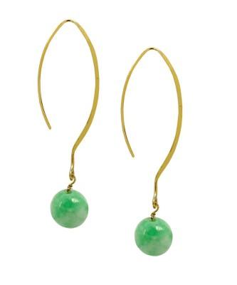 Earring_Jade Opal