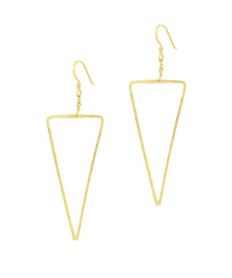 Earrings_Gold_S Triangle
