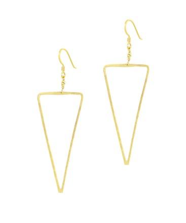 Earrings_Gold_S Triangle