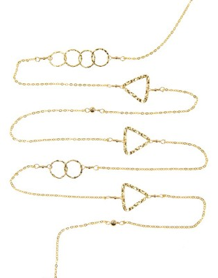 L Necklace_gold C & Triangle