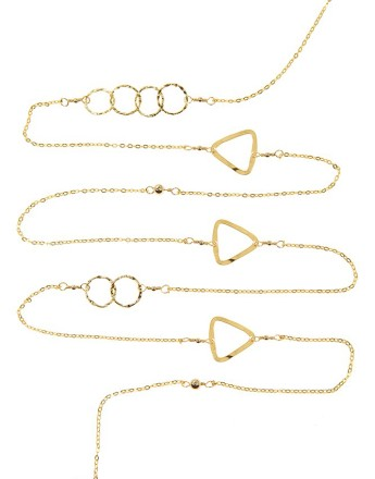L Necklace_golde C& Tri