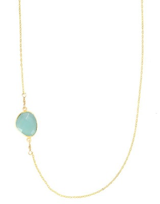 Necklace_sway_green Chalcedony