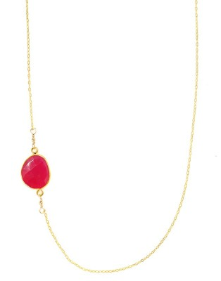 Necklace_sway_red Chalcedony