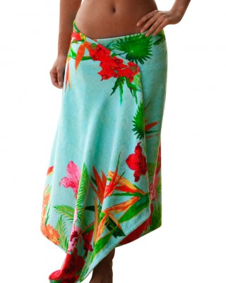 0edafb6192 Simple Sarongs Maui Paradise Cover-up Sarong